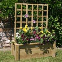 Charles Bentley FSC Timber Trellis Planter