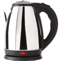 Daewoo 1.8L 2200W Polished Stainless Steel Jug Kettle - Silver