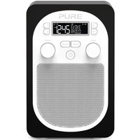Pure Evoke D1 Portable DAB Digital FM Radio - Black VL-6286
