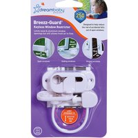 Dreambaby Breezz-Guard Keyless Window Restrictor - White