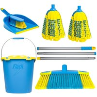 Flash Floor Clean Kit - With Mighty Mop & Flash Mop Bucket