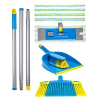 Flash Floor Clean Kit - With Flat Mop and Mighty Mop