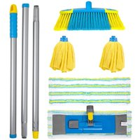 Flash Floor Clean Kit - With Flat Mop & Microfibre Mop