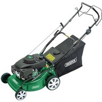 Draper 400mm Self-Propelled Petrol Lawn Mower (135cc/4HP)