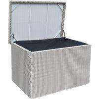 Rowlinson Prestbury Cushion Box - Light Grey