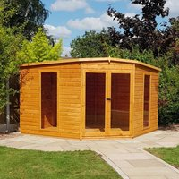 Shire Barclay 10 x 10 Corner summerhouse