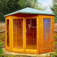 Shire Larkspur 8 x 8 Corner Summerhouse