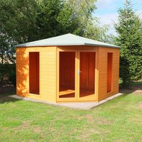 Shire Larkspur 10  x 10 Corner Summerhouse