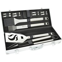 Landmann 13 Piece Stainless Steel Tool Set in Case