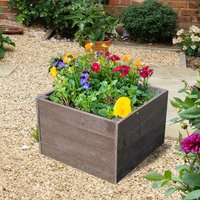 NBB Recycled Furniture EverYear Raised Bed L600 x D640 x H400mm - Brown
