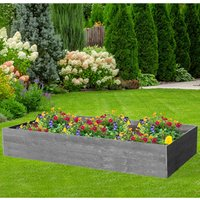 NBB Recycled Furniture EverYear Raised Bed L1200 x D640 x H400mm - Grey