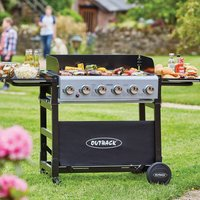Outback Party 6 Burner Gas BBQ