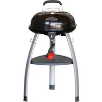 Outback Trekker Gas BBQ with Dome Hood - Black
