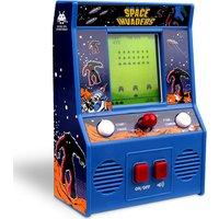 Basic Fun Space Invaders Mini Arcade Game (B/W Screen)
