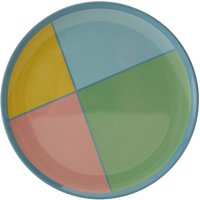 Maison By Premier Mimo Set of 4 Melamine Dinner Plates - Multi-Coloured