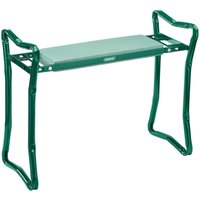 Draper Folding Revers Kneeler and Seat - Green