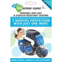 Bioarmor-nano Gadget Anti-bacterial Coating Wipes for Mobiles, Gadgets & Tech Accessories
