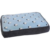 Zoon Counting Sheep Gusset Dog Mattress - Large