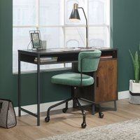 Teknik Canyon Lane Home Study Desk - Brew Oak with Grand Walnut Accents