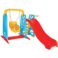 Pilsan Cute Swing and Slide Set