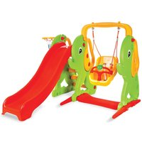 Pilsan Elephant Slide and Swing Set