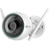 EZVIZ C3N Full HD 1080p Outdoor Smart Wi-Fi Security Camera with Colour Night Vision - White