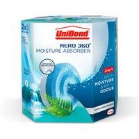 UniBond Aero 360 Waterfall Freshness Refills - 2 Pack