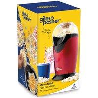 Giles & Posner EK0493G 1200W Popcorn Maker with Measuring Cup - Red