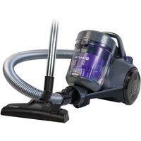 Russell Hobbs Atlas2 Pets Cyclonic Cylinder Vacuum Cleaner - Spectrum Grey and Purple
