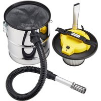 Zennox MK2 800W 15L Stainless Steel Ash Vacuum Cleaner - Silver
