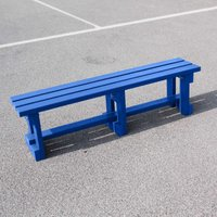 NBB Recycled Furniture NBB Recycled Plastic Backless 150cm Bench - Blue