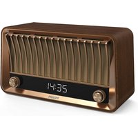 Philips Vintage Design Bluetooth DAB+ Radio  with 20W RMS Stereo - Brown TAVS700/12