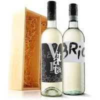 Virgin Wines Must Have White Duo in Wooden Gift Box