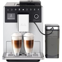 Melitta ML1410 Ci Touch Bean-to-Cup Coffee Maker - Silver and Black