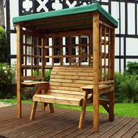 Charles Taylor Wentworth Two Seater Arbour with Green Roof Cover
