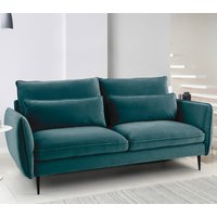 Rhonda 3 Seater Sofa - Malta Peacock Teal