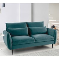 Rhonda 2 Seater Sofa - Malta Peacock Teal