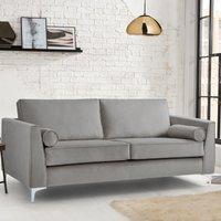 Milan Icon 3 Seater Sofa Malta Grey