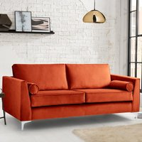 Milan Icon 3 Seater Sofa Malta Apricot