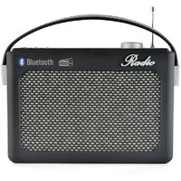 Lloytron DAB+/FM Portable Stereo Radio with Bluetooth N5401BK