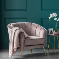 Como Accent Chair Cedar Velvet Gold Legs