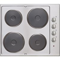 Statesman ESH630SS 60cm 4 Plate Electric Hob - Stainless Steel