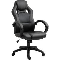 Equinox PU Leather Racing Gaming Swivel Office Chair with Height Adjustable