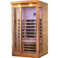 Canadian Spa Chilliwack 1 to 2 Person Far Infrared Home Indoor Sauna (DAMAGED BOX)
