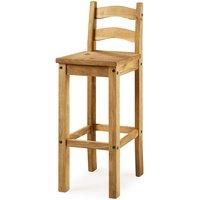 Heartlands Furniture 2 x Corona Pine Bar Chairs