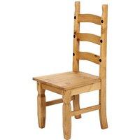 Heartlands Furniture 2 x Corona Pine Dining Chairs