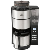 Melitta 6768390 Aromafresh Grind and Brew Coffee Machine - Black and Stainless Steel
