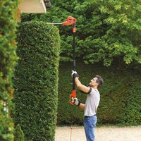 Black and Decker Black and Decker 550w Corded 40cm Pole Hedge Trimmer