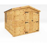 Mercia 3.3m x 3m Log Cabin Workshop - 19mm