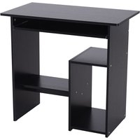 Zennor Basic Computer Desk - Black